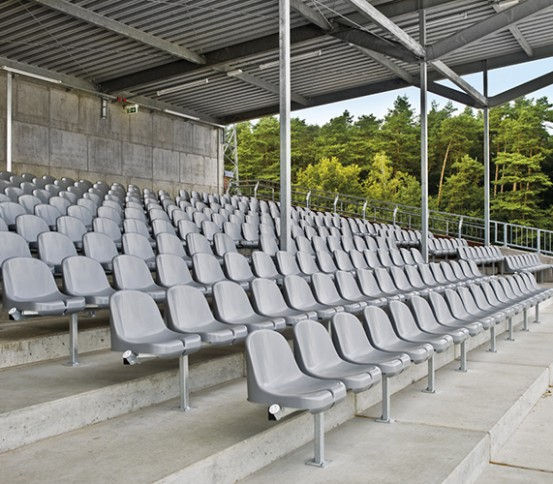 Polypropylene seats - Accessories - Tribunes and Grandstands