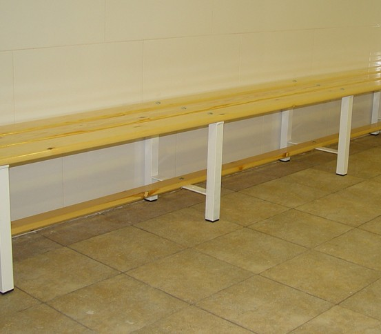 Changing rooms benches