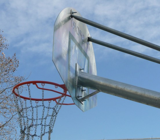 Anti-vandalism basketball goal - Basketball goals - Basket