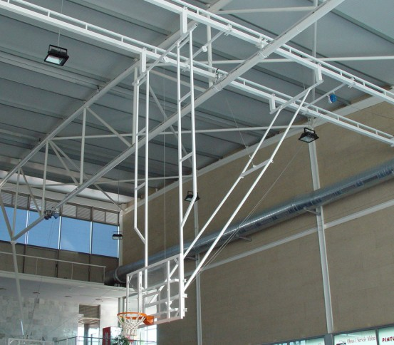 Double Post Celing hung Basketball goal - Basketball goals - Basket