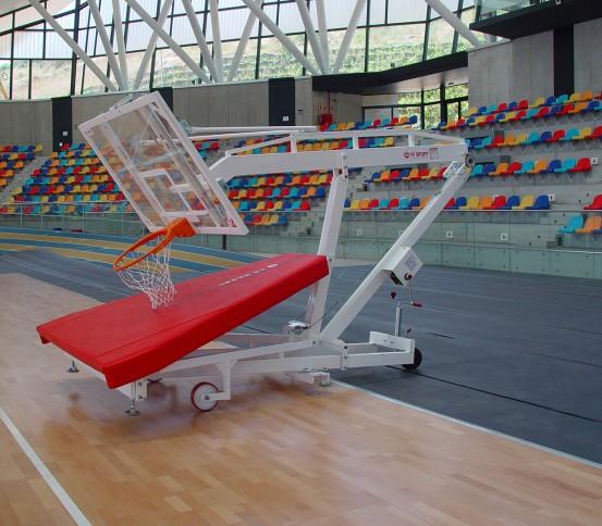 Canasta baloncesto trasladable elevable - Canastas - Baloncesto
