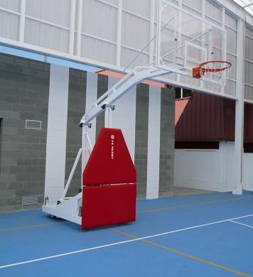 Canasta baloncesto de competición