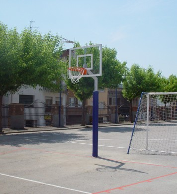 Demountable minibasketball goals