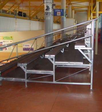 Removable tribunes GADES 100