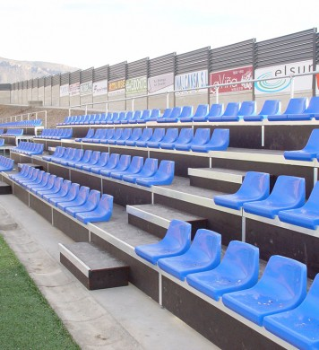 Removable tribunes GADES 130