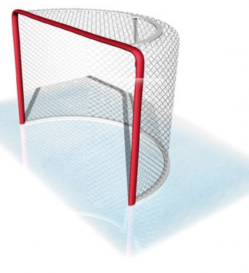 Grass hockey net