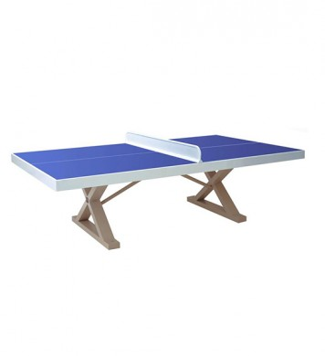 Anti-vandalism tennis table