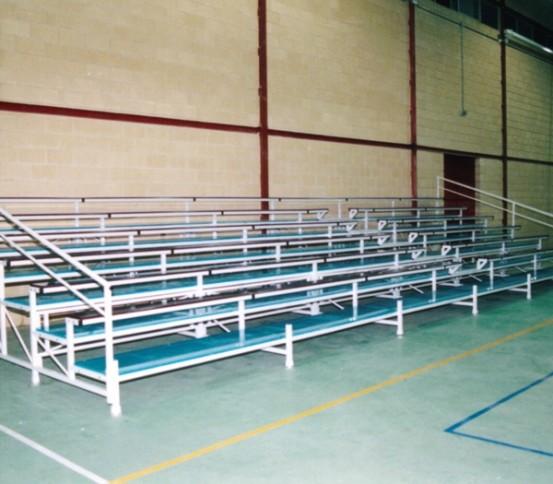 Removable tribunes GADES 110 - Removable tribune - Tribunes and Grandstands