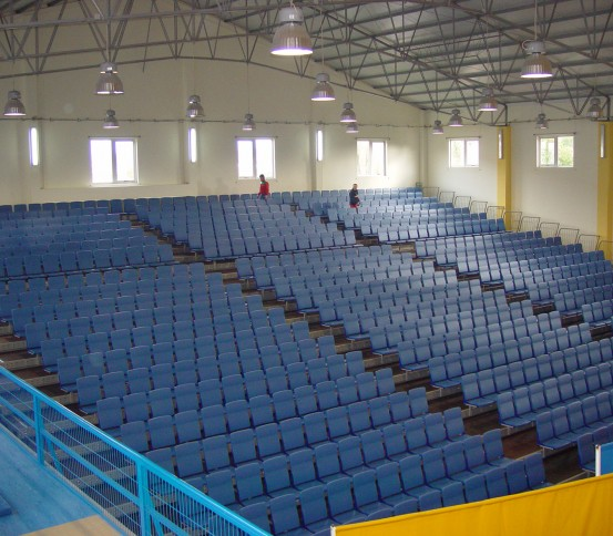 Retractable tribune GATEL 210 - Retractable tribunes - Tribunes and Grandstands