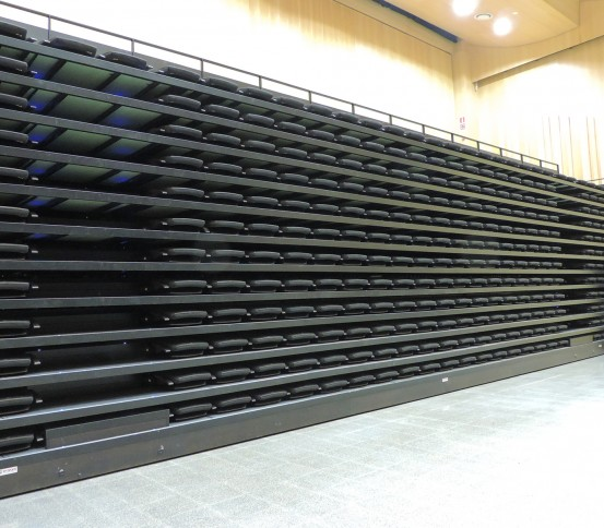 Grada retráctil GATEL 220 - Graderíos retráctiles  - Gradas y tribunas