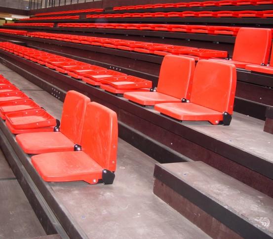 Gradas teléscopicas GATEL 140 - Gradas Telescópicas - Gradas y tribunas