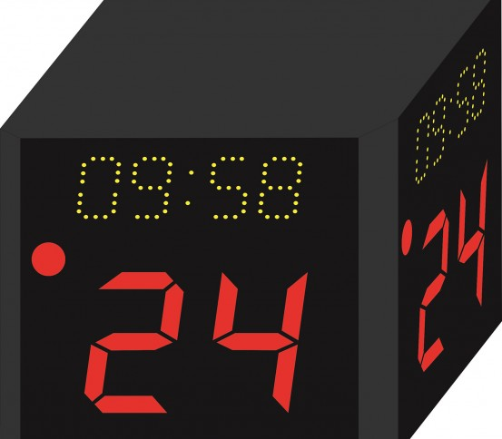 Basketball shot clock  - Scoreboard - Other Equipment