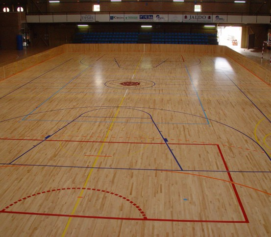Wood sport floor - Sports floors - Flooring