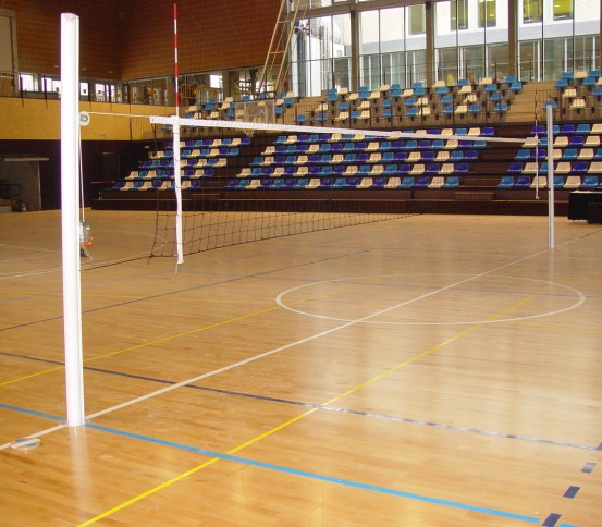 Fixed Volleyball posts - Volleyball - Other Sports