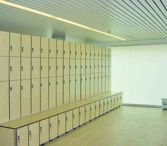 lockers for changing rooms - Changing rooms - Other Equipment